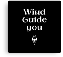 Wind Guide You Canvas Print