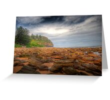 Sydney Beaches - Avalon Beach - The HDR Series - Sydney Australia Greeting Card
