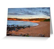 Amber - Sydney Beaches - Avalon Beach - The HDR Series - Sydney Australia Greeting Card