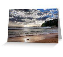 Sydney Beaches - Palm Beach, - The HDR Series - Sydney,Australia Greeting Card