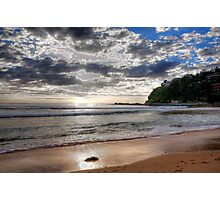 Sydney Beaches - Palm Beach, - The HDR Series - Sydney,Australia Photographic Print