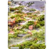 Inverness Morning Webs, Scotland. iPad Case/Skin