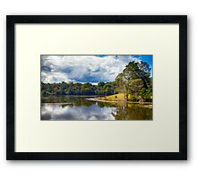 Rocky Creek Dam Framed Print