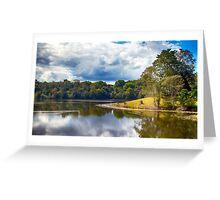 Rocky Creek Dam Greeting Card