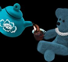 ☀ ツ TEA TIME TEDDY BEAR PICTURE/CARD ☀ ツ by ✿✿ Bonita ✿✿ ђєℓℓσ