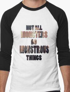 Not All Monsters Do Monstrous Things [Scott McCall] Men's Baseball ¾ T-Shirt