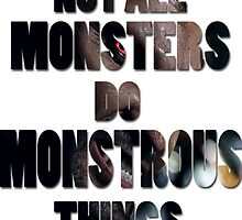 Not All Monsters Do Monstrous Things [Derek Hale] by thescudders