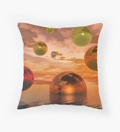Spheres Throw Pillow