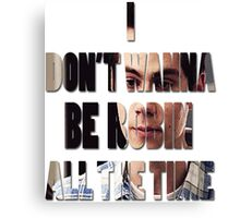 I don't Wanna Be Robin [All The Time] Canvas Print