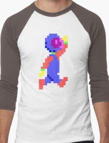 Captain Comic HD - Retro DOS game pixel art fan shirt Men's Baseball ¾ T-Shirt