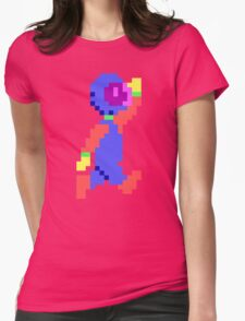 Captain Comic HD - Retro DOS game pixel art fan shirt Womens Fitted T-Shirt