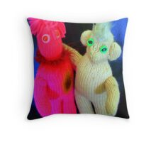 The Very Best of Friends Throw Pillow