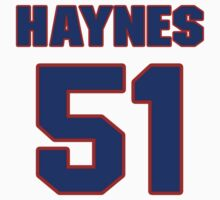 National baseball player Jimmy Haynes jersey 51 by imsport