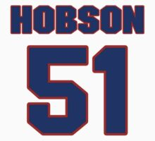 National baseball player Butch Hobson jersey 51 by imsport