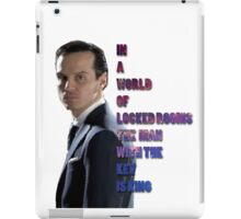 In a World Of Locked Rooms... iPad Case/Skin