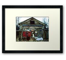 Redneck Mansion Framed Print