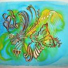 'Tropicana Butterfly' by Shahida  Parveen