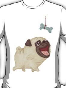 Happy Pug and bone T-Shirt