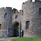Beeston Castle Gatehouse by Mike Davitt