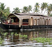 Kerala Boat India by Sandyou