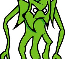 Green Guy by oznoid