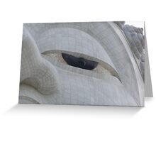 Eye of the Buddha Greeting Card