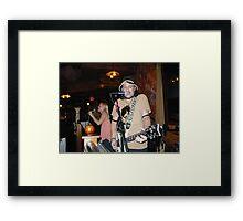 Live Rock Framed Print
