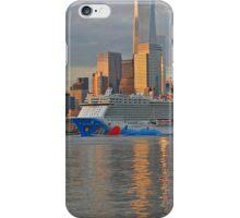 Cruise Ship Norwegian Breakaway on the Hudson River iPhone Case/Skin