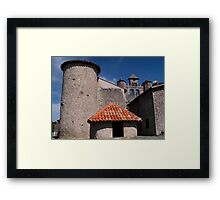 Montjoie en Couserans Framed Print