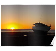 Tide Out, Sun Down Poster