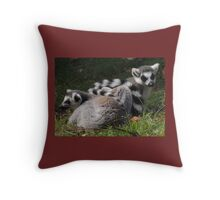 Wrapped Up In You Throw Pillow
