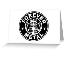 Forever Metal Greeting Card