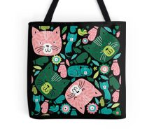 kittens in mittens Tote Bag