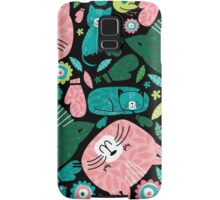 kittens in mittens Samsung Galaxy Case/Skin