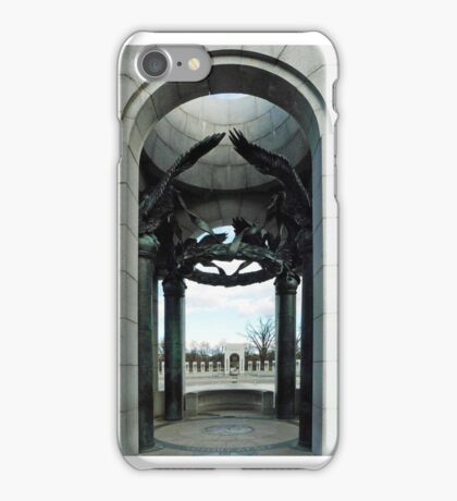 World War II Memorial iPhone Case/Skin