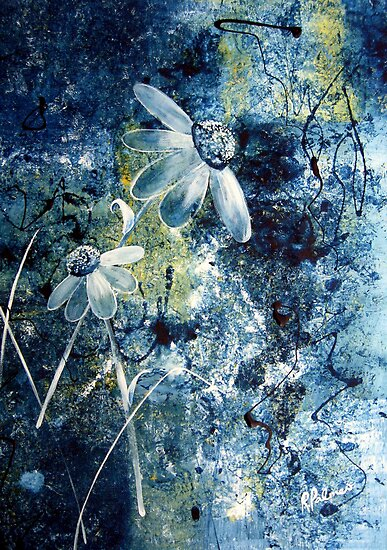 Blue Beauties by Ruth Palmer