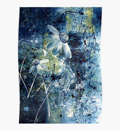 Blue Beauties Poster