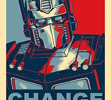 Optimus Prime - Change by endgameendeavor