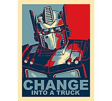 Optimus Prime - Change Photographic Print