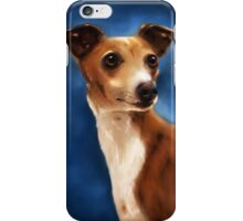 Magnifico - Italian Greyhound iPhone Case/Skin