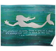 Mermaid Found Poster