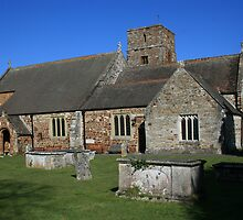 Canford Magna Parish Church by RedHillDigital