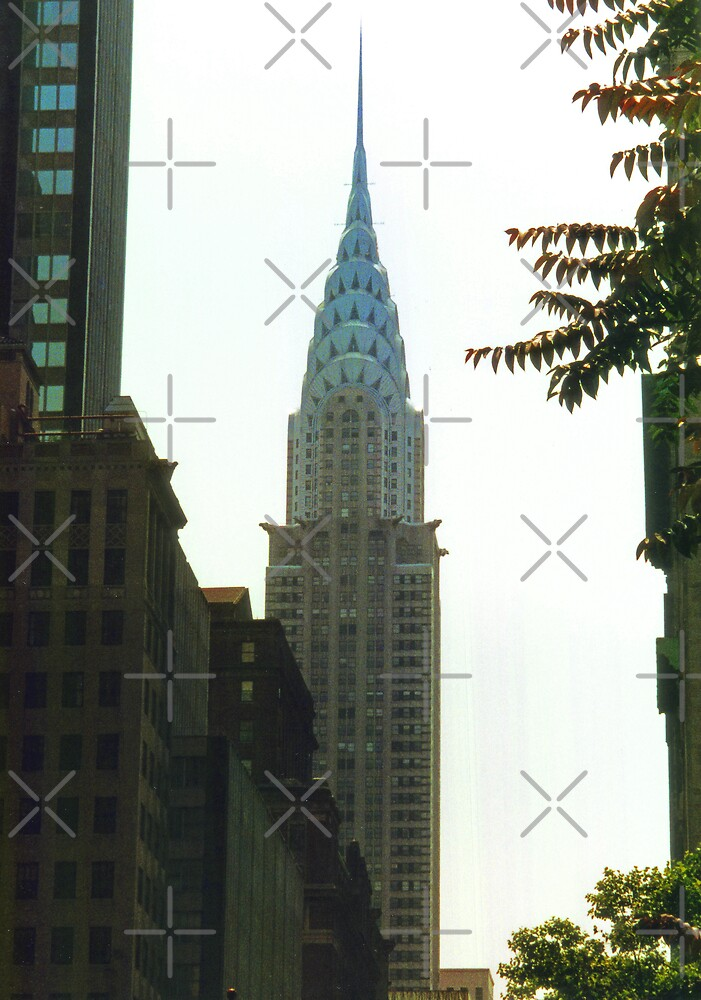 Chrysler Building II by Tom Gomez