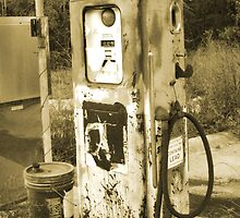 Out Of Gas by Walter Collazo