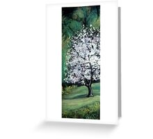 Blooming Pear Greeting Card