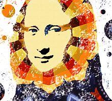 Mona Lisa poster by valizi