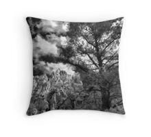 La Madre Treescape Throw Pillow