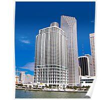 Downtown Miami Architecture Poster