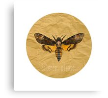 Silence of the Moth Canvas Print