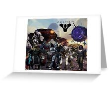 Destiny collage Greeting Card